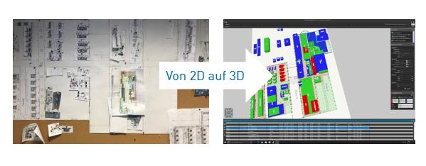 Einsatz von AREAPLAN bei FILL - von 2D zu 3D in der Fabrikflächenplanung
