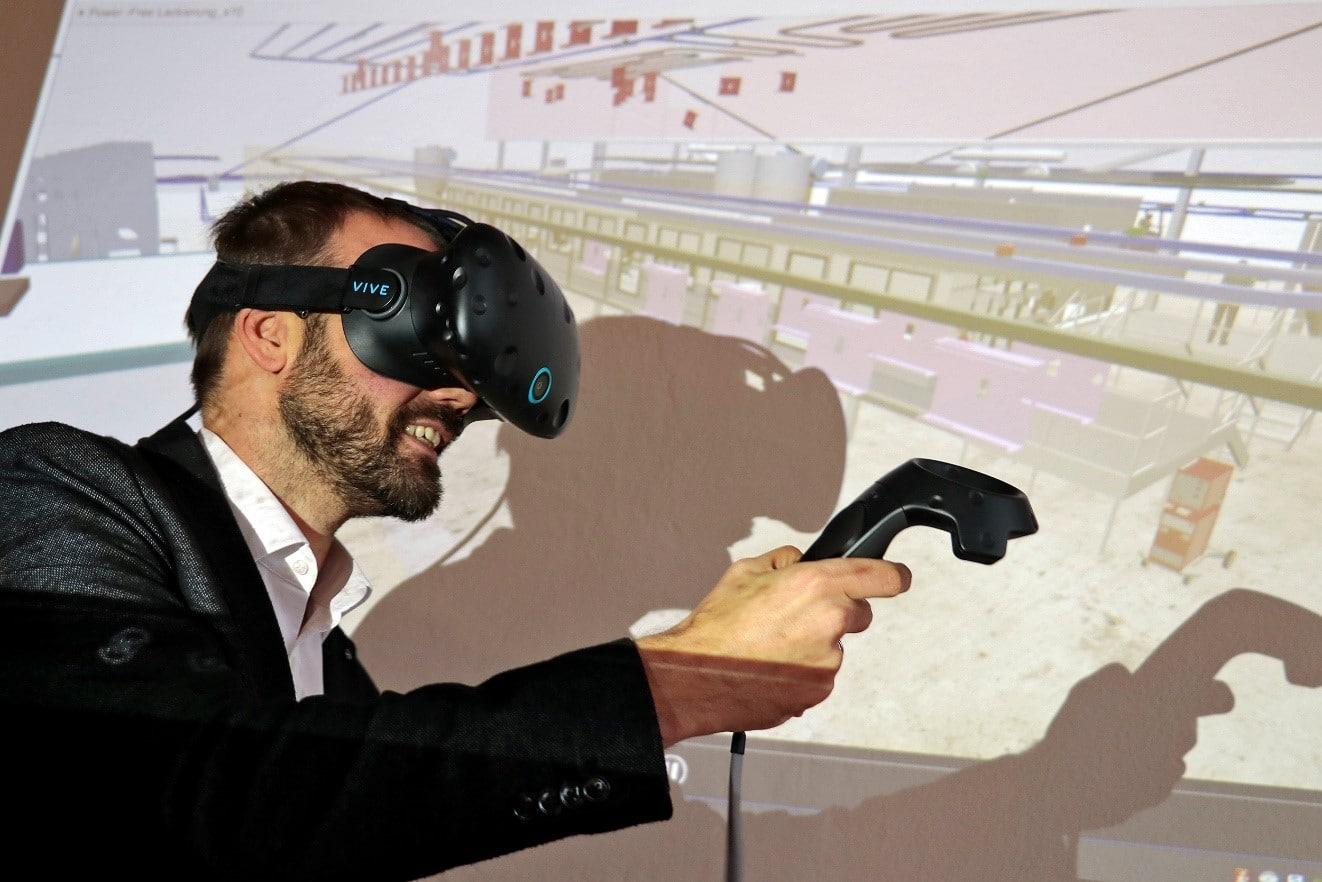 Virtual Reality Technik im Anlagenbau