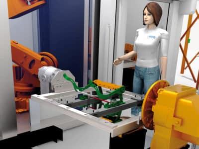 Faurecia simuliert Materialflüsse und setzt auf AGVs