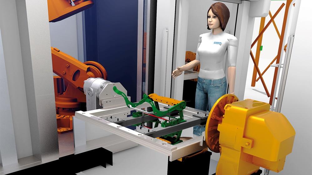 Success Story: Faurecia simuliert Materialflüsse und Einsatz von AGVs