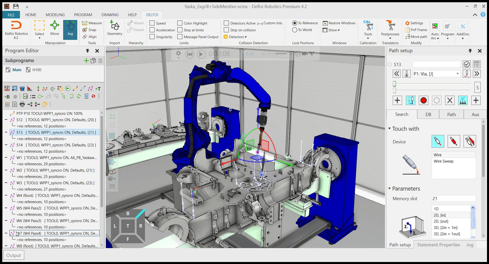 Delfoi Robotics Offline Programming Software OLP