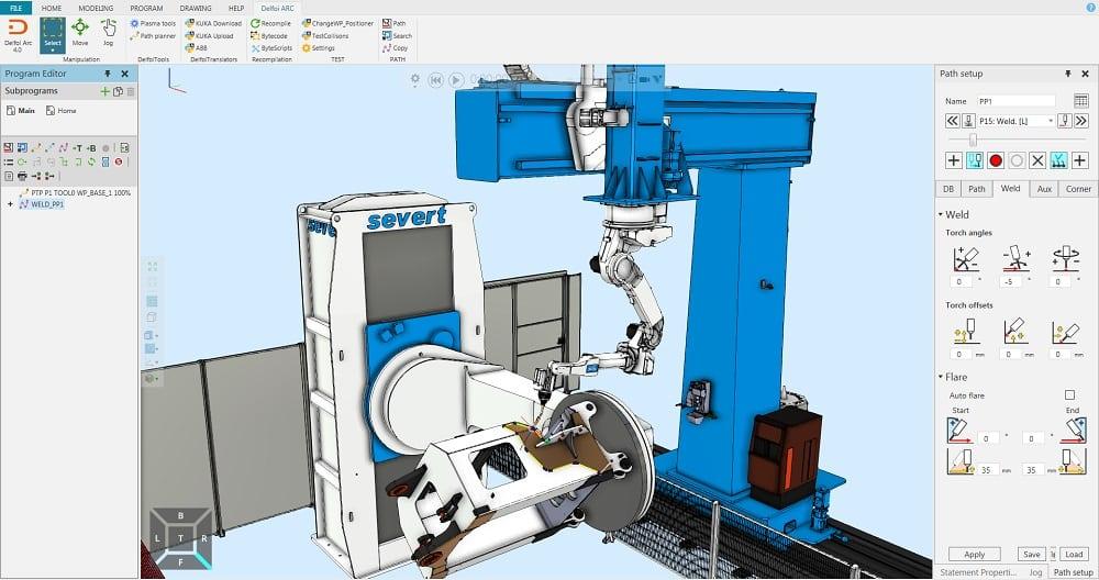 Delfoi Robotics Software - Delfoi ARC