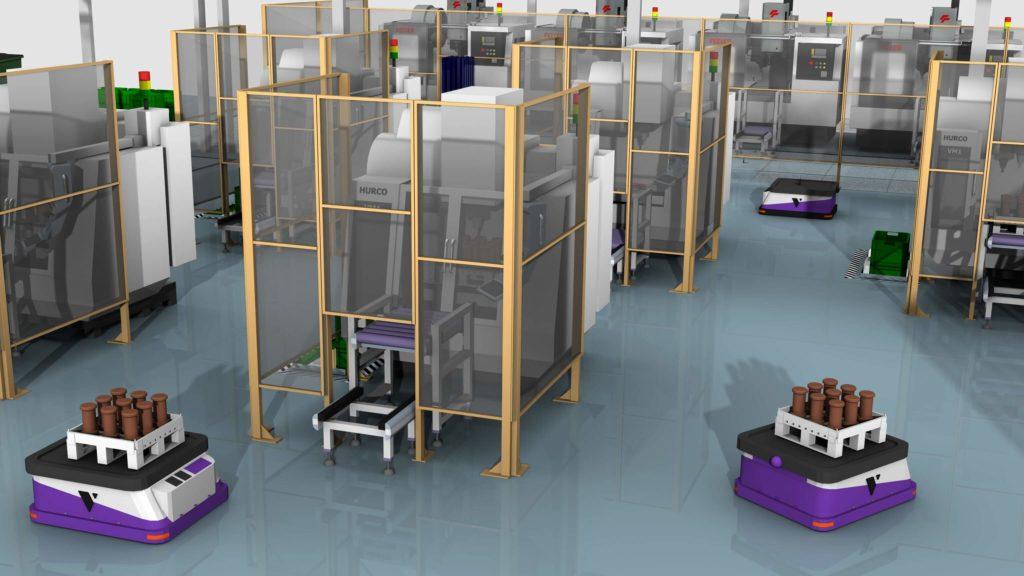 Bahn frei, Kartoffelbrei: Wie fahrerlose Transportsysteme den Materialfluss optimieren